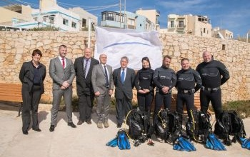 Wied iz-Zurrieq White Flag award ceremony