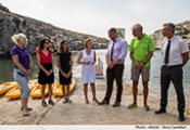 White Flag award to Mgarr Ix-Xini, Island of Gozo